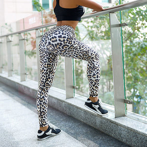 New Leopard Skinny High Waist Yoga Pants