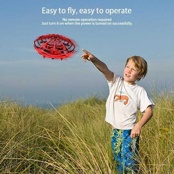 Hand Controlled Drone Flying Toys-Toys-airvog.com-RED-airvog