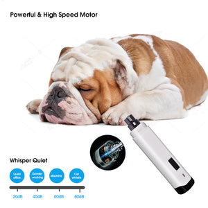 Rechargeable Painless Dog Nails Grinder