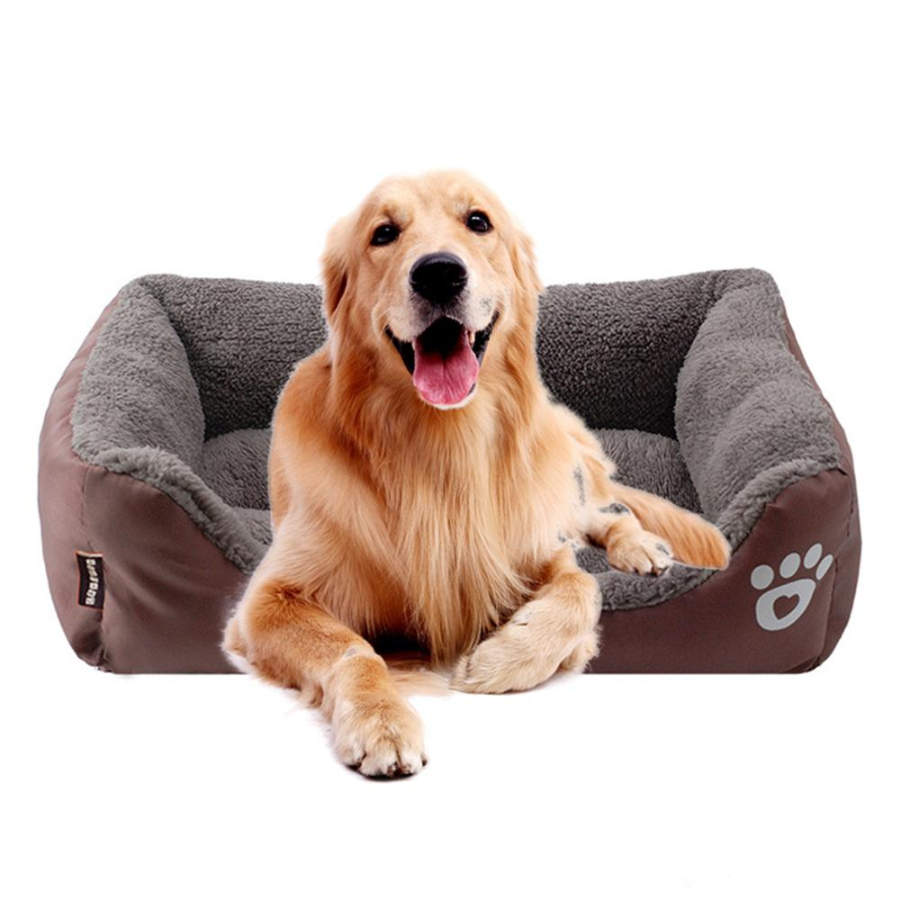 New Memory-Foam Dog Bed