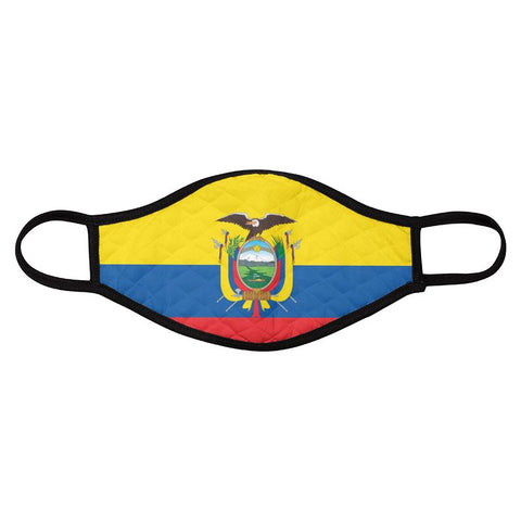 Face Mask Ecuador 4Pack
