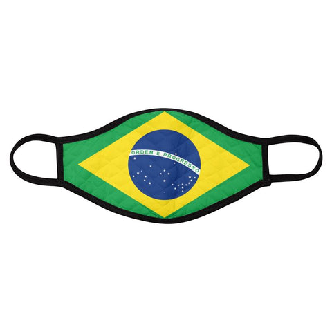 Face Mask Brazil 4Pack