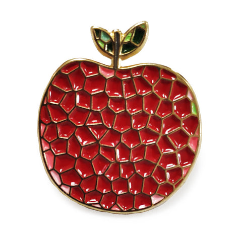 ART APPLE NYC RED PIN