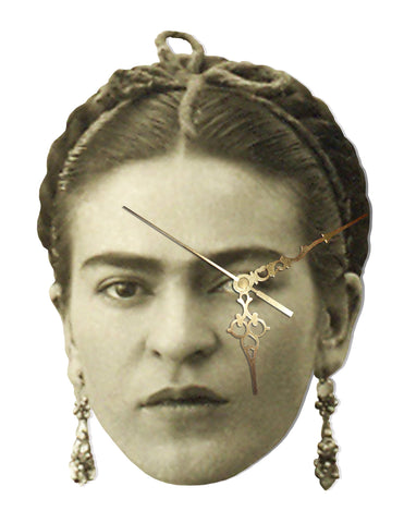 Frida Kahlo 1935 Wall Clock