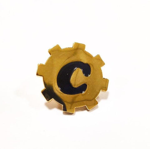 ClockWork Cros Emblem Pin