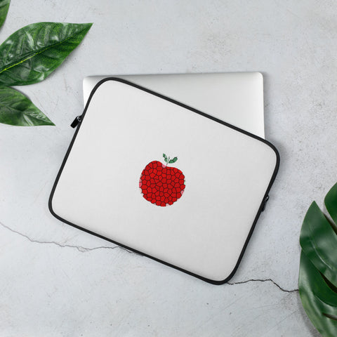 Art Apple NYC Laptop Sleeve (White)