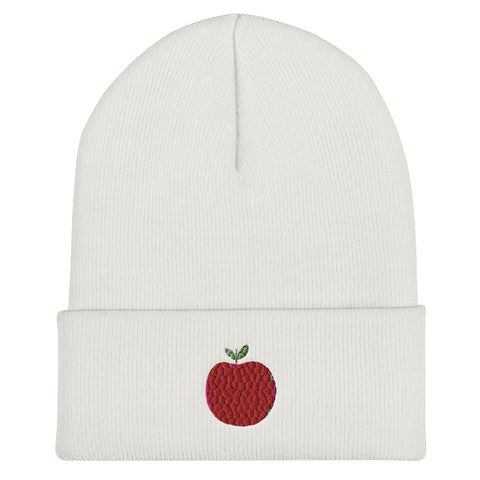 ART APPLE NYC Cuffed Beanie