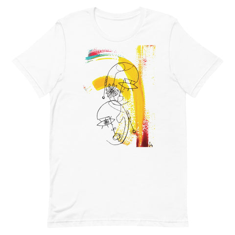 ART APPLE NYC | THE MOOD TALK 5 by Souha Short Sleeve Shirt