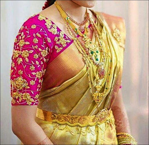 wedding saree blouses