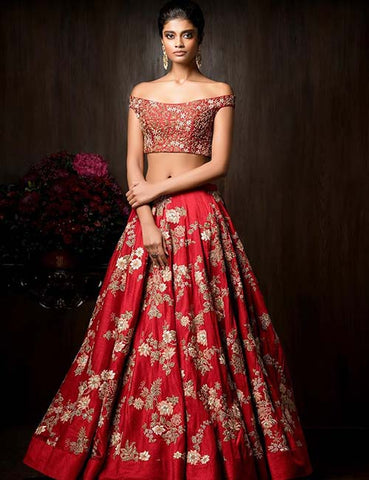 Latest Top Blouse Designs For Lehenga Choli – Natasha Couture