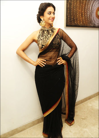 tapered saree blouses