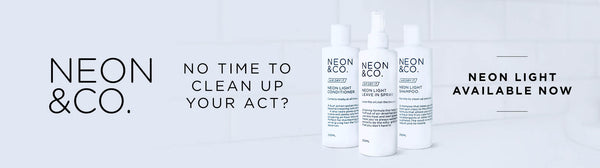 Bottle - Air Dry It.  Neon Light: for good, lazy hair days.