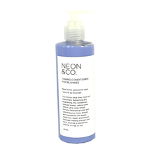 Load image into Gallery viewer, Neon & Co. Purple Toning Conditioner for Blondes