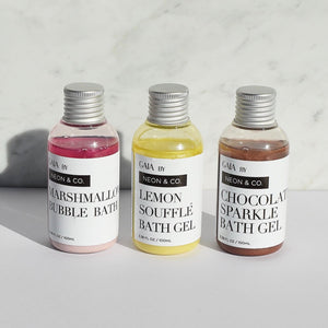 Neon & Co. 'Cake Shop' Bath Gel Trio
