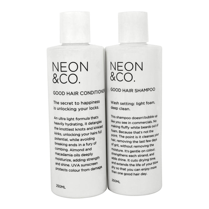 Neon & Co. Shampoo + Conditioner Twin Pack (250ml x 2)