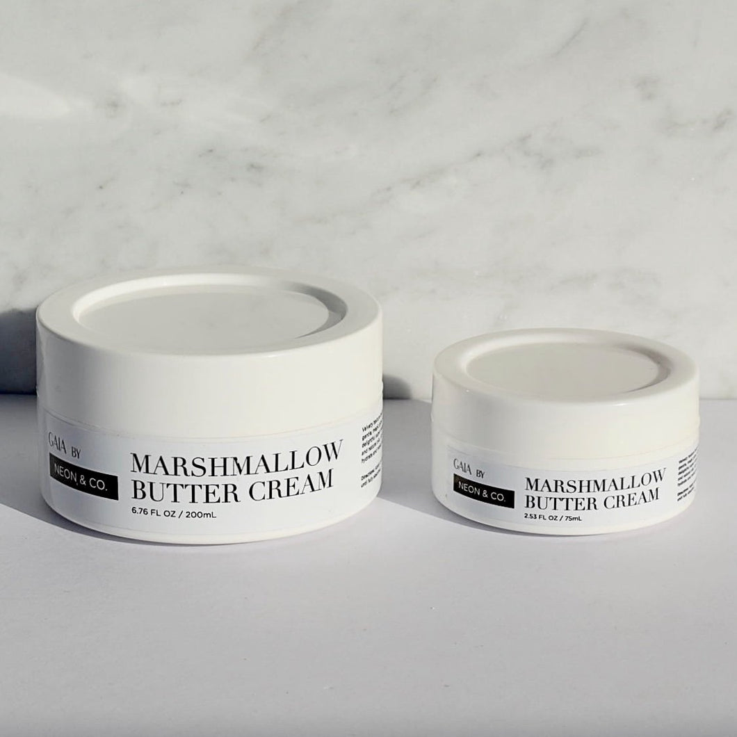 Neon & Co. Body Butter - Marshmallow (200ml or 75ml)