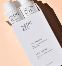 Load image into Gallery viewer, Neon & Co. Hair and Scalp Oil & Anti-Frizz Serum