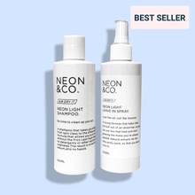 Load image into Gallery viewer, Neon & Co. ☁️ 'Air Dry It' Shampoo & Conditioner Duo