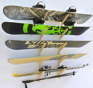 BALTIC SNOWBOARD WALL RACK
