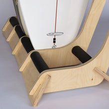 Load image into Gallery viewer, THE LINEUP FREESTANDING SURFBOARD RACK