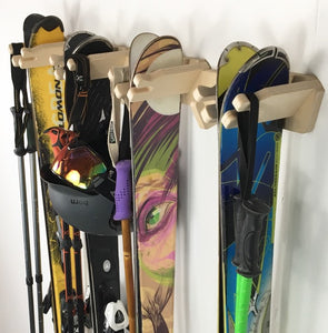 THE APRES ski wall rack