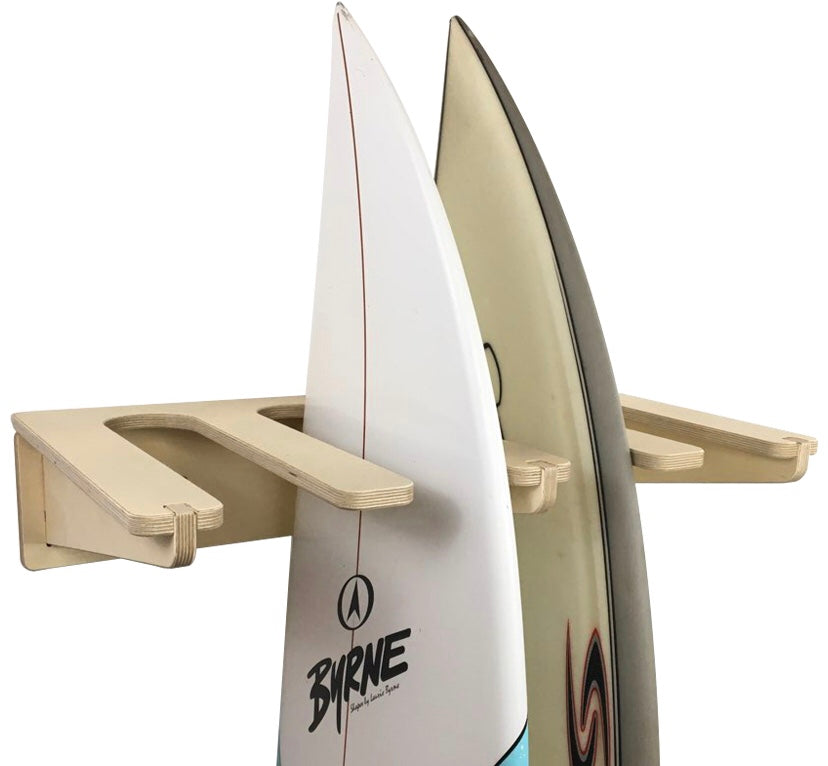 THE FREESTYLE surfboard wall rack