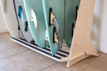 Load image into Gallery viewer, THE PACIFICA freestanding surfboard rack