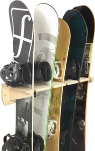 THE PONDEROSA snowboard wall rack