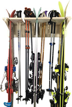 Load image into Gallery viewer, THE PONDEROSA ski wall rack