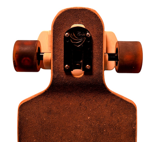 THE ELEVATOR skateboard & longboard wall rack