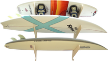 Load image into Gallery viewer, THE EXHIBITOR surfboard wall rack