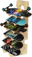 Load image into Gallery viewer, THE BOARDROOM skateboard floor rack