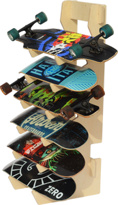 THE BOARDROOM skateboard floor rack
