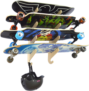 THE ANNEX skateboard wall rack