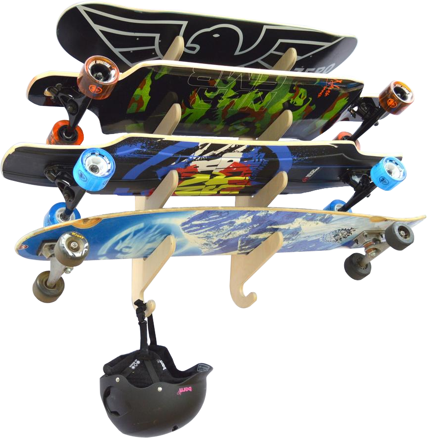 BALTIC SKATEBOARD/LONGBOARD RACK