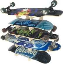 Load image into Gallery viewer, THE SHOWCASE skateboard wall rack