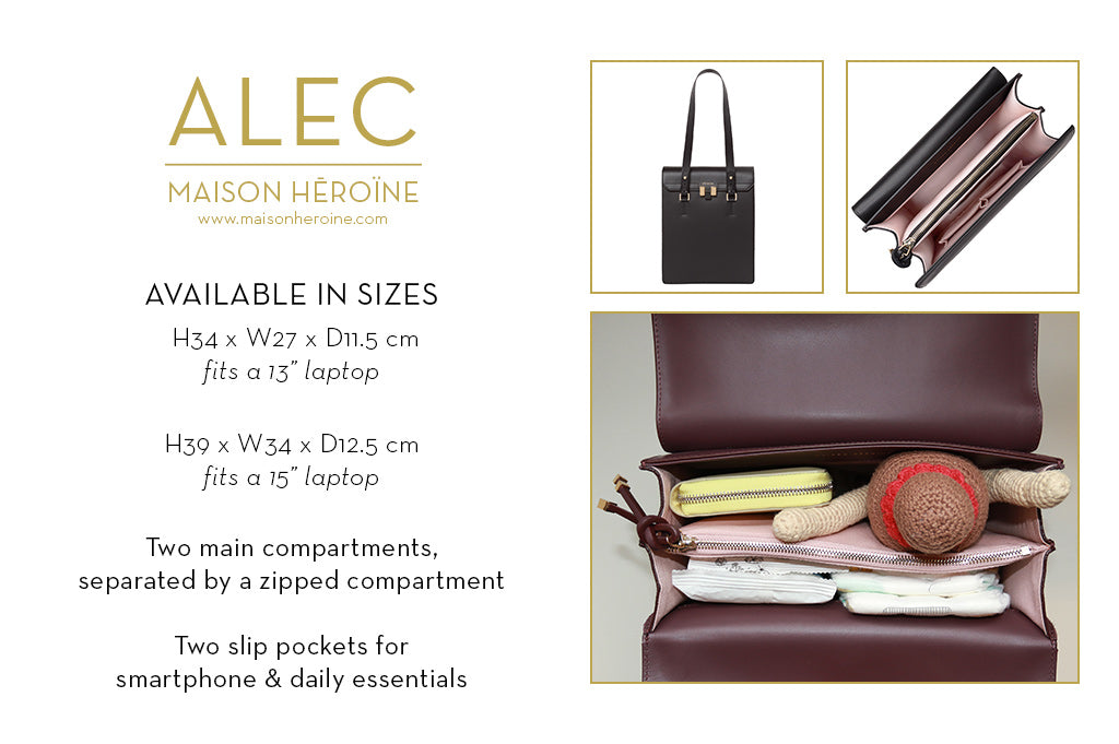 Alec mom purse infographic