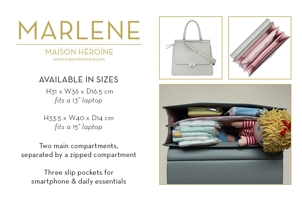 Marlene mom purse infographic