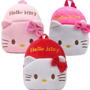 Hello Kitty Kids Plush Backpack - Proceeds Benefit Puffy Paws Kitty Haven Cat Hospice