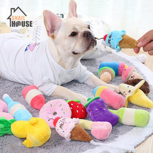 Plush Squeaking Dog Toy - Proceeds Help Support Cat Hospice for Special Needs Kitties