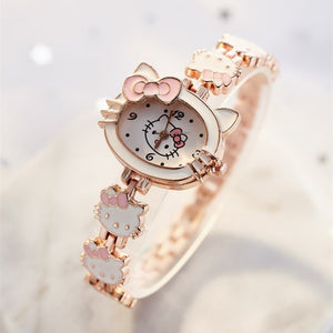Hello Kitty Watch - Proceeds Help Benefit Puffy Paws Kitty Haven 200 Special Needs Kitties