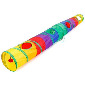 Colorful Cat Tunnel  - Proceeds Help Benefit 200 Special Needs Kitties