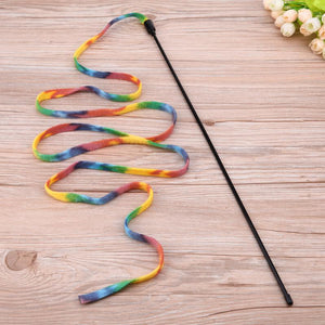 Cat Teaser Wand - Proceeds Help Benefit Puffy Paws Kitty Haven Cat Hospice
