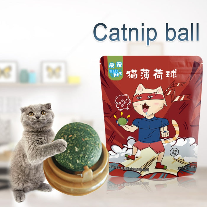 Edible Catnip Ball -Proceeds Help Benefit 200 Special Needs Kitties