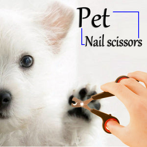 Pet Nail Scissors - Proceeds Help Support Puffy Paws Kitty Haven Cat Hospice for Special Needs Kitties