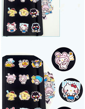 40pcs Hello kitty Stickers - Proceeds Help Support 200 Special Needs Kitties