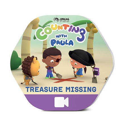Counting With Paula - Treasure Missing