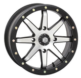 STI HD9 Beadlock Matte Black & Machined