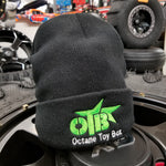OTB Beanie - Black With Colored Logo!