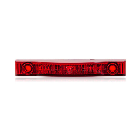 Thin Line Red 4″ 7 LED's P2PC – Used on Honda Pioneer 500 Rear w/TSS-UNI